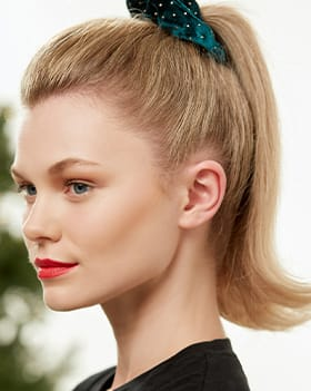 ghd flipped out pony tail tutorial