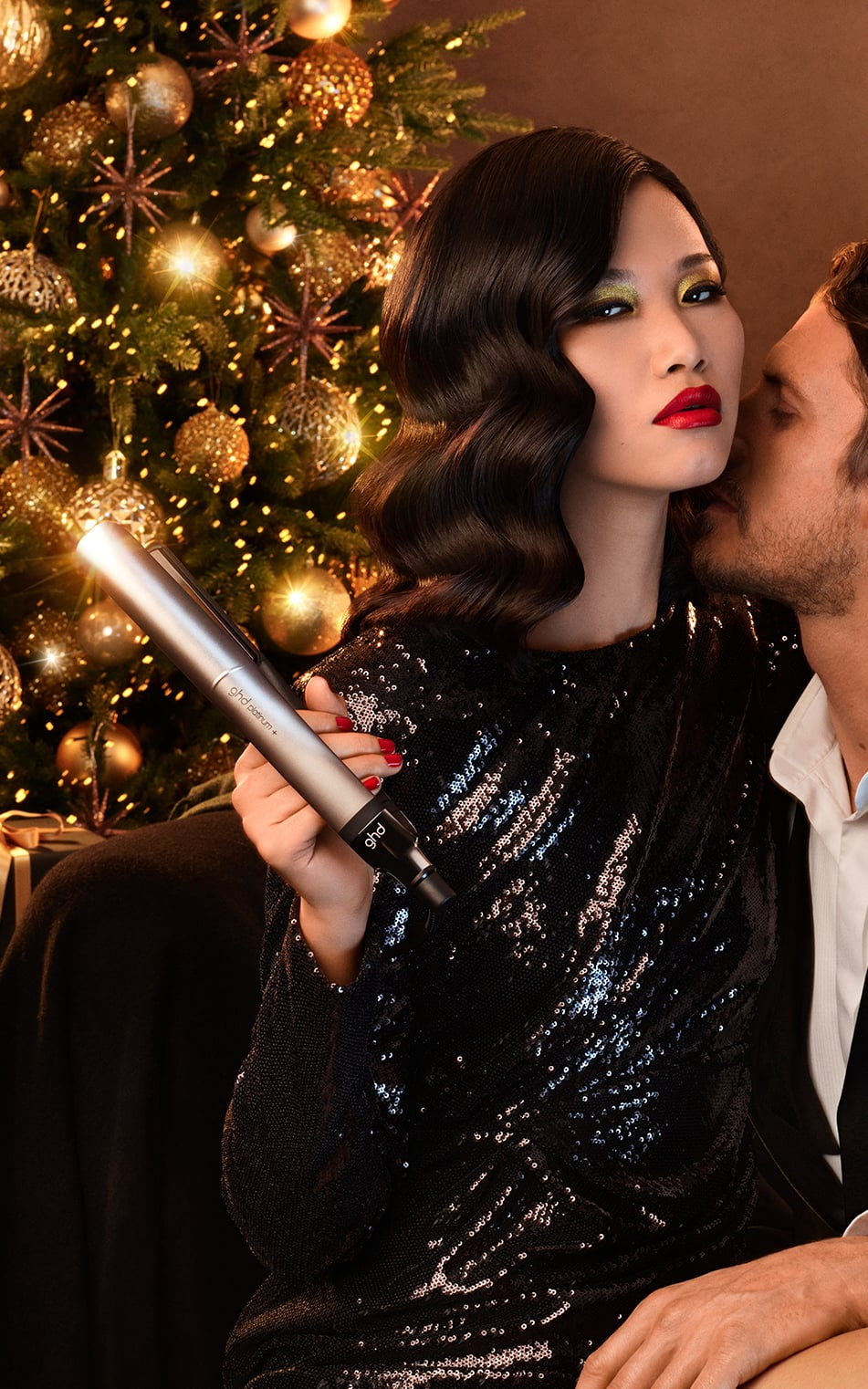 ghd deluxe gift set model