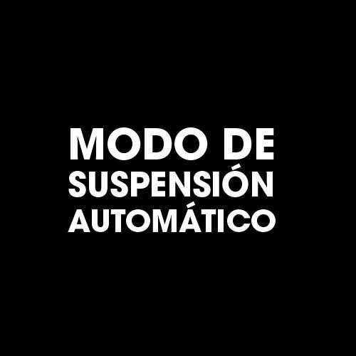 Modo de suspensión automático