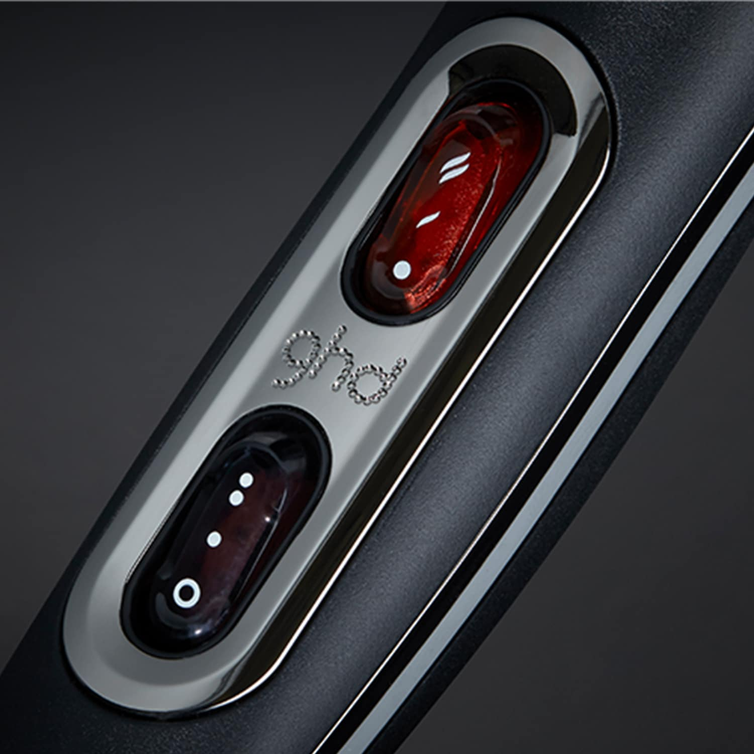 ghd air professional hair dryer buttons close-up