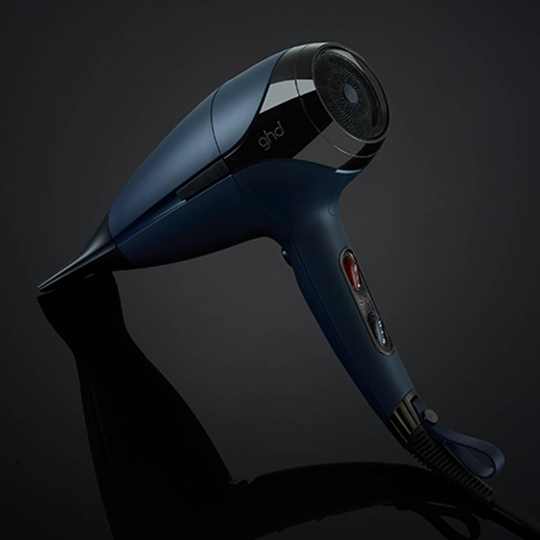 ghd helios hair dryer in navy image