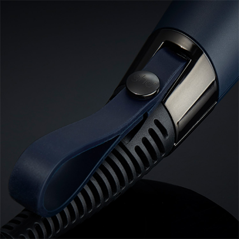 ghd helios hair dryer in navy strap image