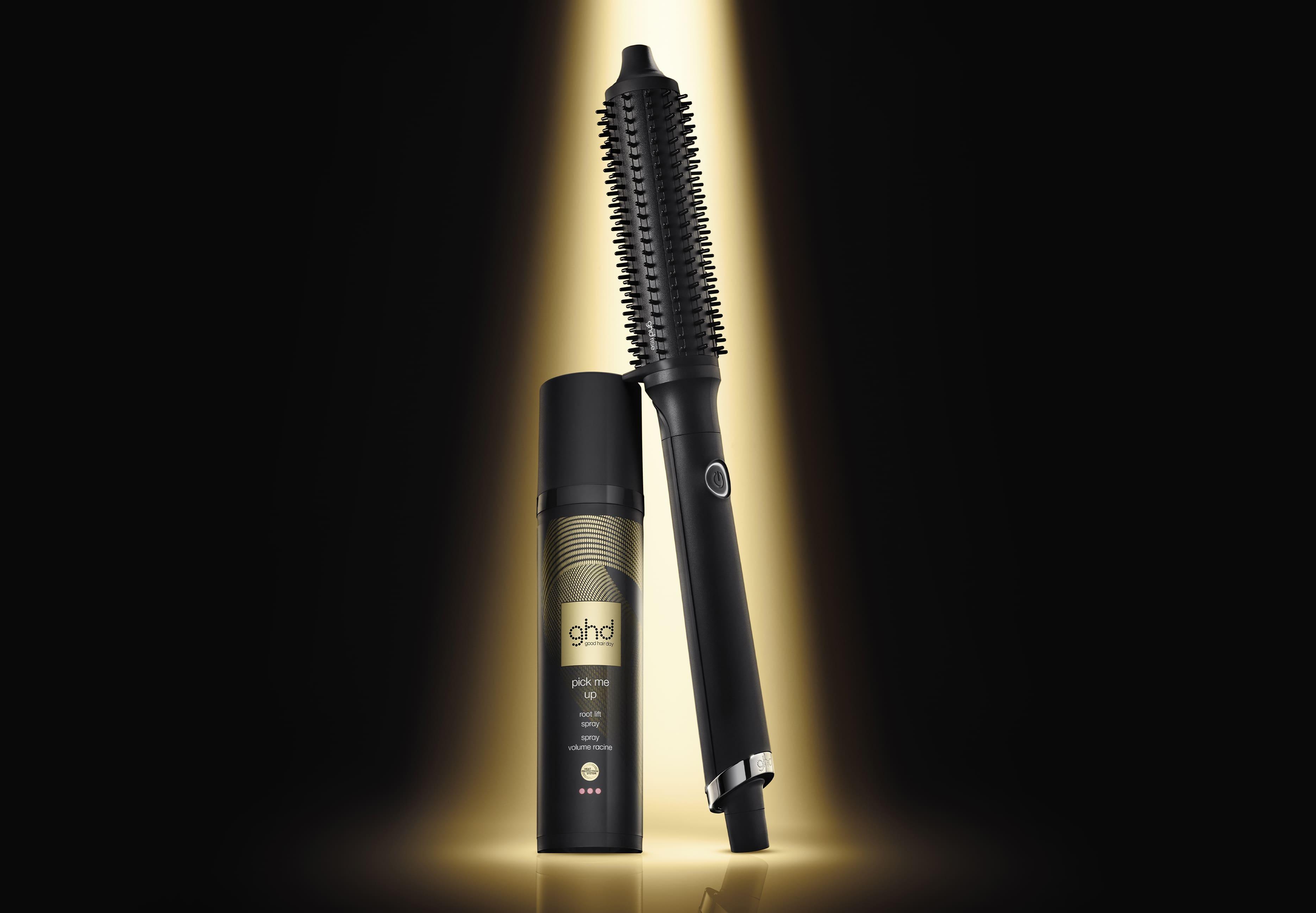 ghd rise™ Hot Brush mit Spray für Ansatzvolumen