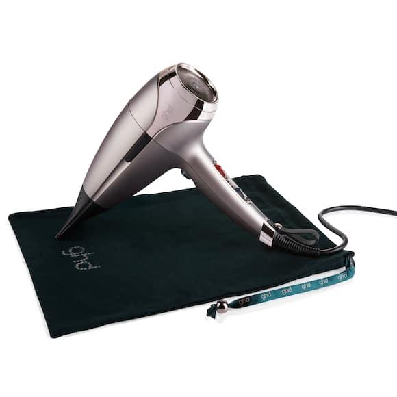 ghd helios hair dryer in warm pewter
