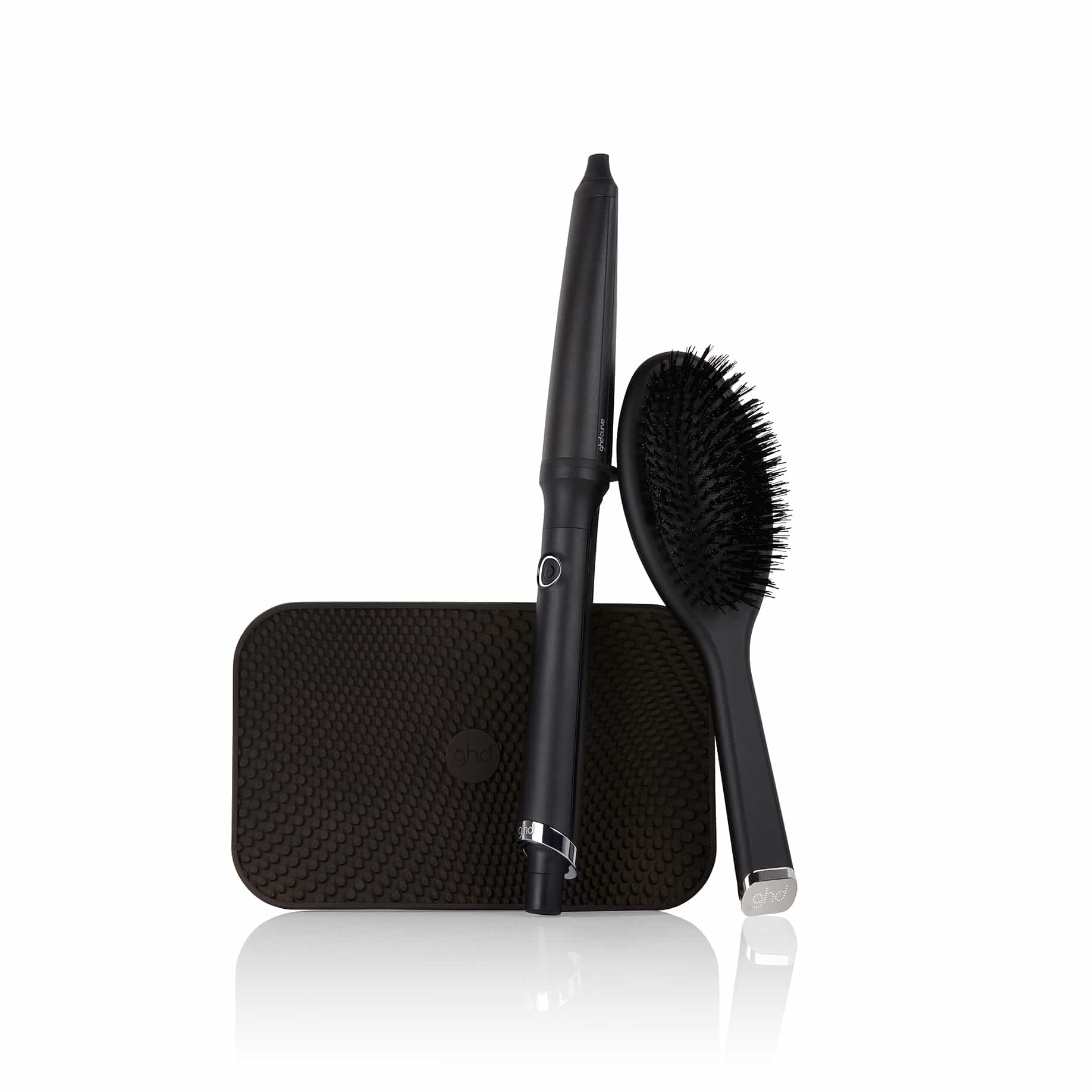 GHD CREATIVE CURL WAND WITH HEAT RESISTANT MAT & BRUSH