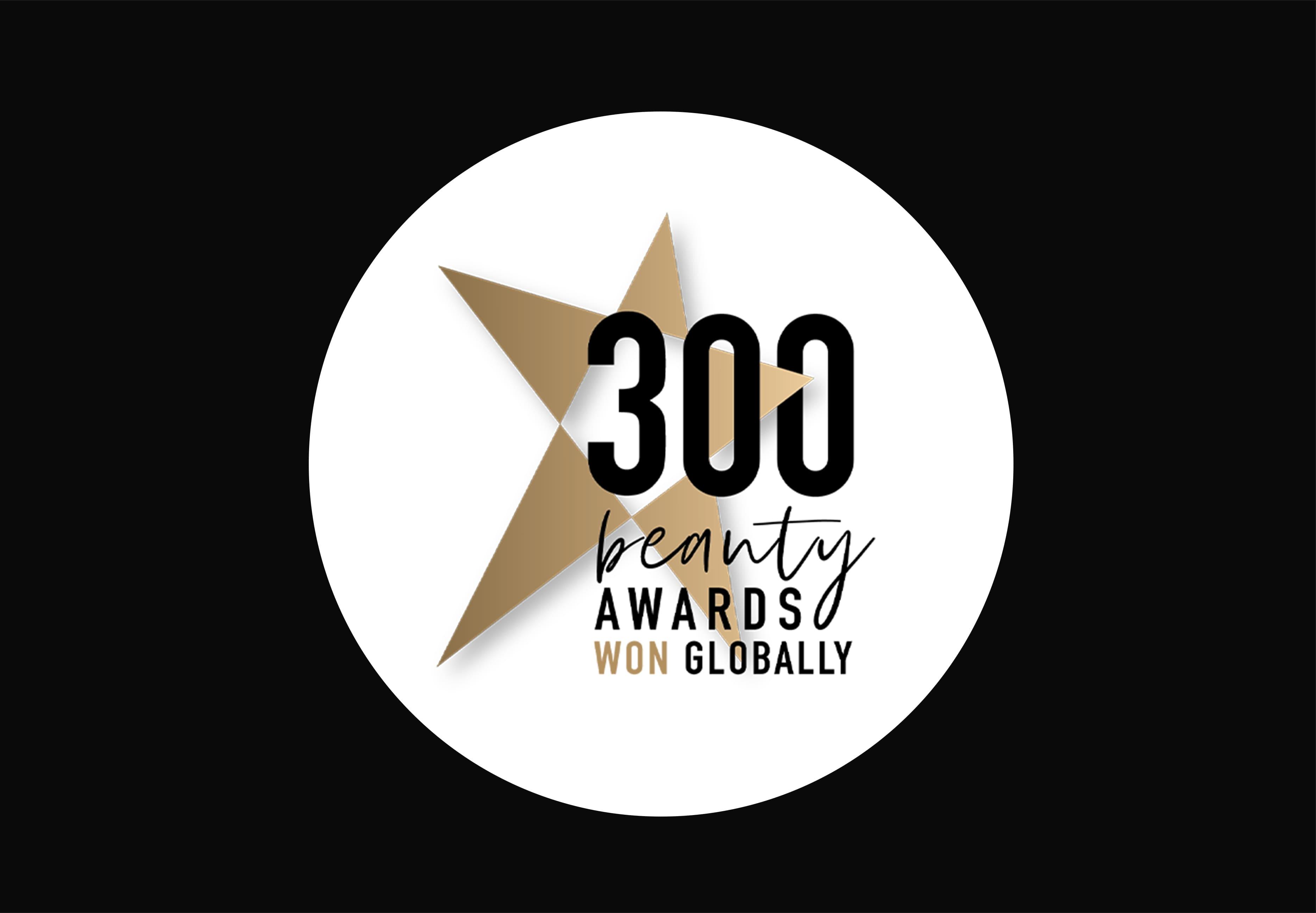 300 Beauty Awards Won