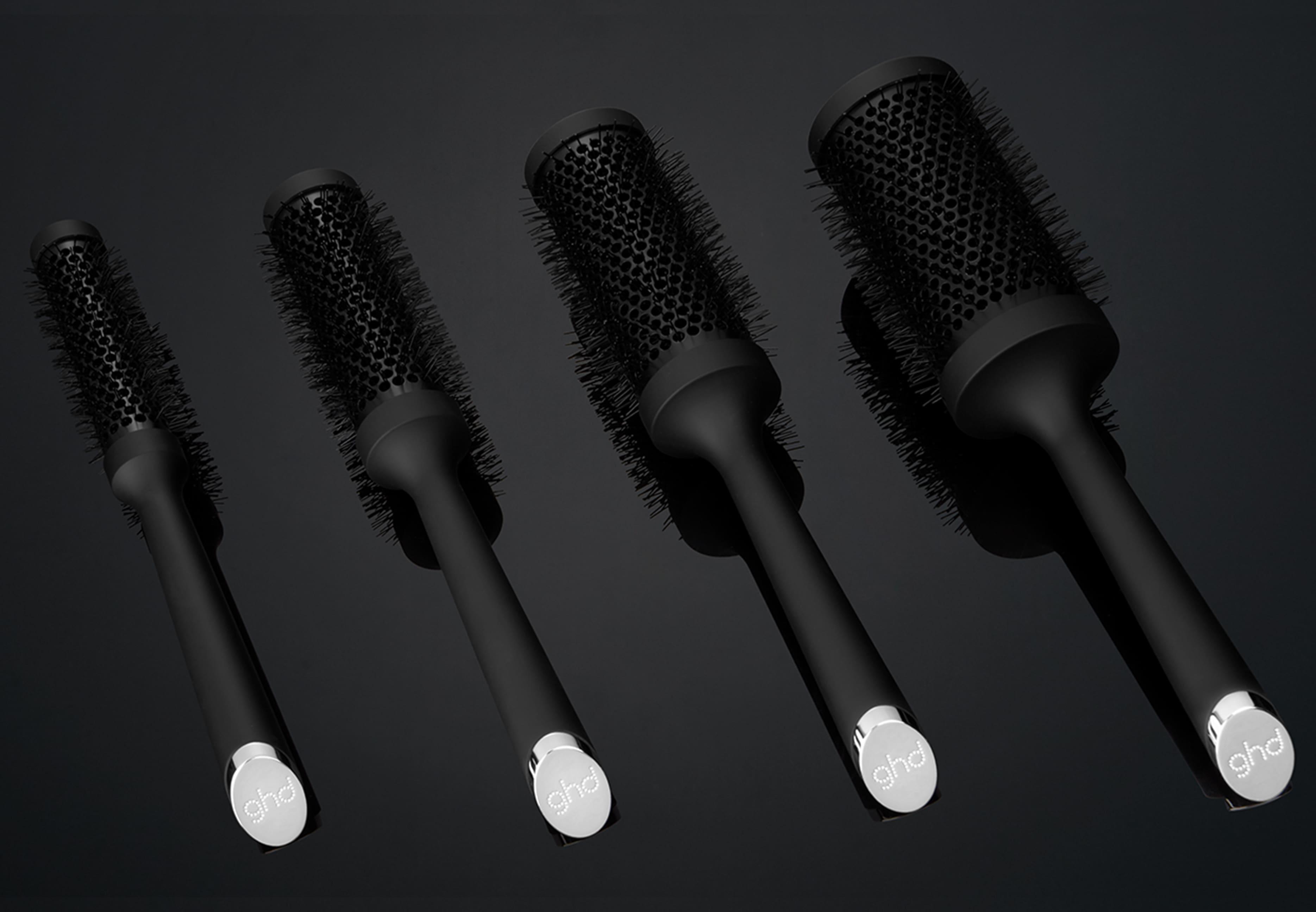 range of ghd ceramic round brushes