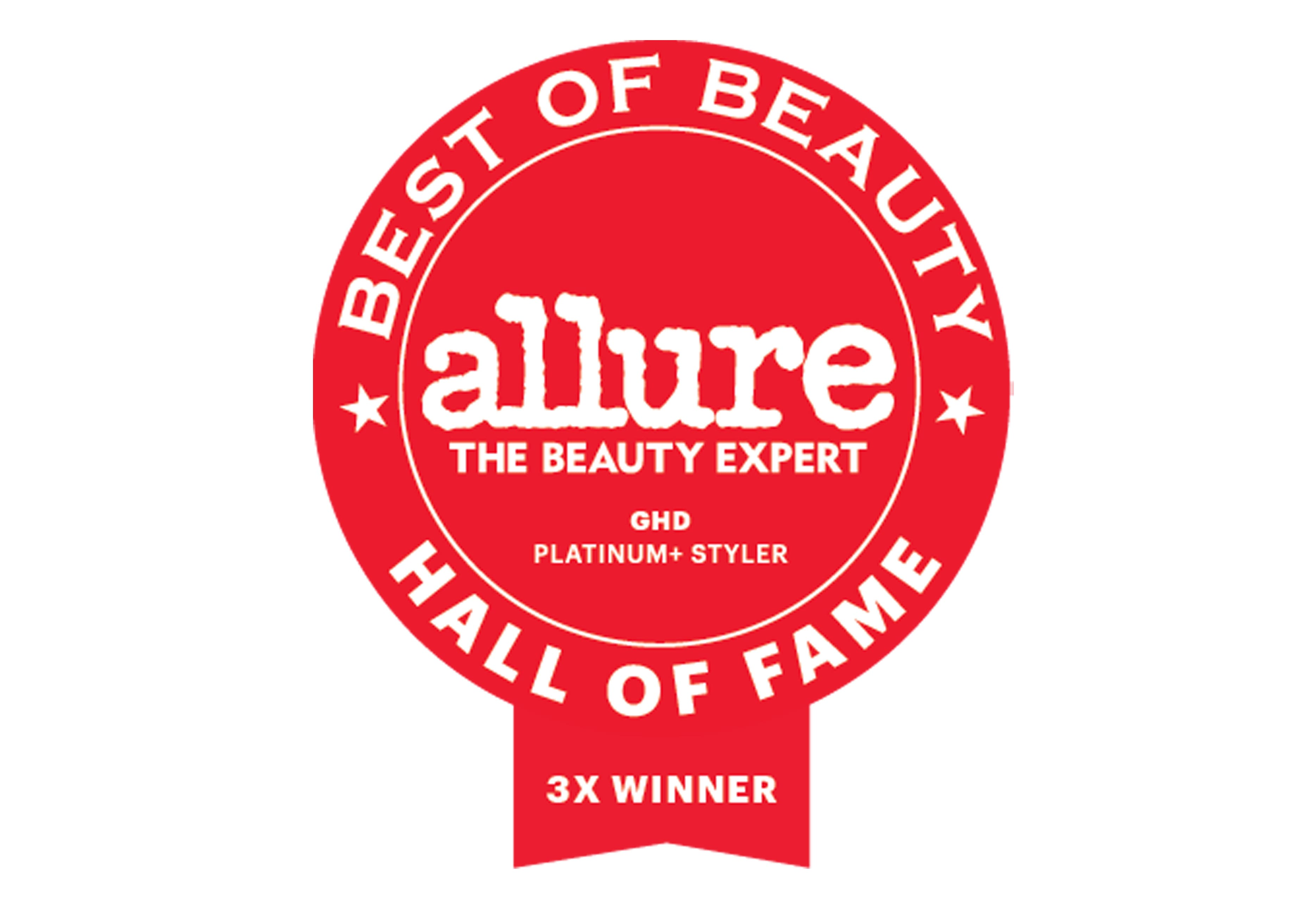 Allure Best of Beauty Hall of Fame Award Seal