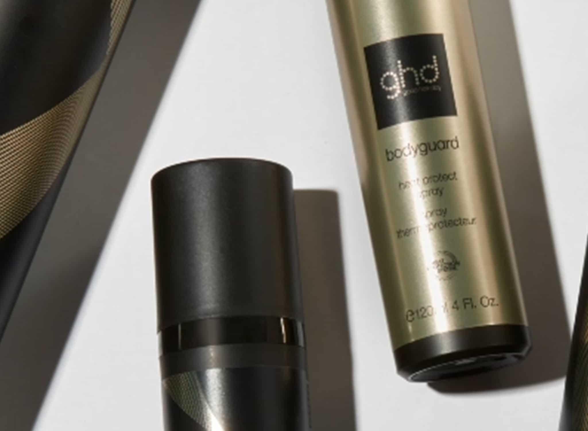 utbud av ghd produkter för platt hår